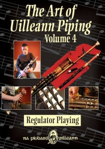 Art of Uilleann Piping 4 DVD (Note: Europe or Computer DVD format only)