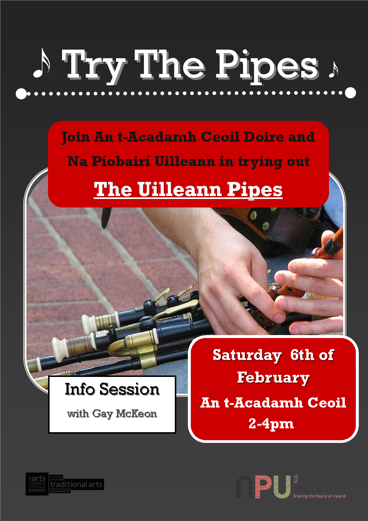 Try the Pipes An t-Acadamh Ceoil