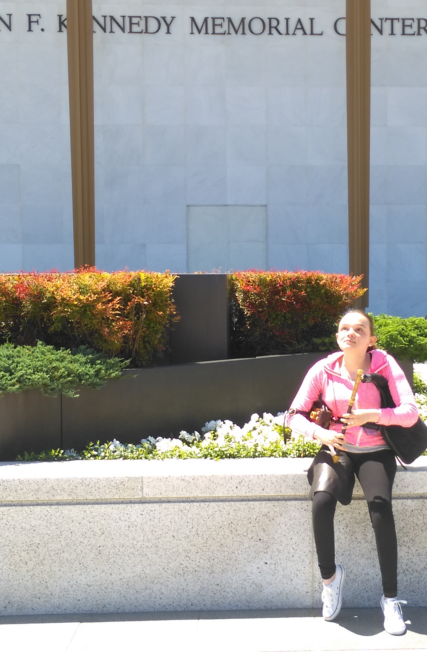Amy Campbell at the Kennedy Center Washington